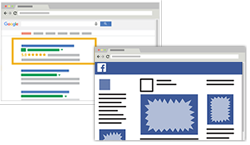 Facebook and Google Ad Campaign Request