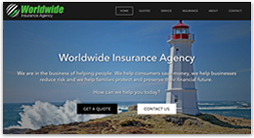 insurance website template - flex