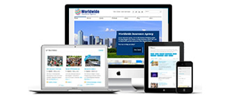 insurance agency websites