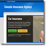 red Insurance Agent Website